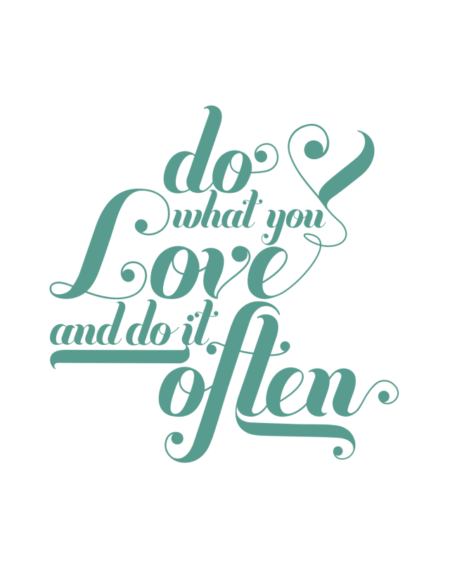 do-what-you-love-poster