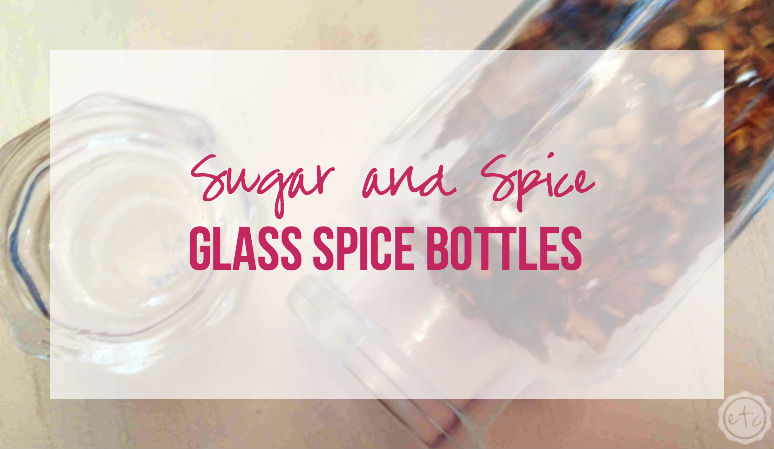 Glass Spice Bottles