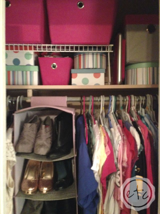 Closet Organization for Small Spaces and Smaller Budgets | Happily Ever After Etc