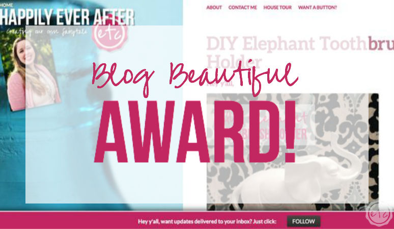 2015 Blog Beautiful Award