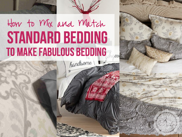 How to Mix and Match Bedding   Happily Ever After, Etc.