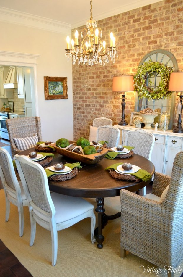 How to add texture to any space happily ever after etc for Decorative pictures for dining room