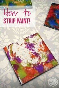 How to Strip Paint! with Happily Ever After Etc