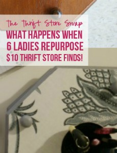 The Thrift Store Swap Reveal with Happily Ever After, Etc.