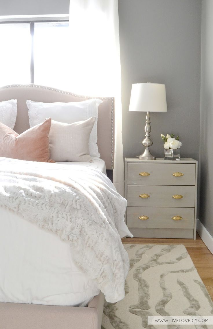 Happily Ever After, Etc. blush bedroom