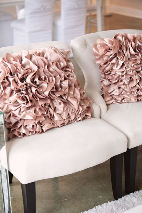 Happily Ever After, Etc. Blush Pillows