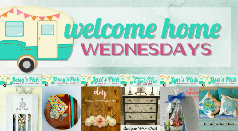 Welcome Home Wednesdays Link Party #4