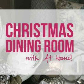 Christmas Dining Room with At Home