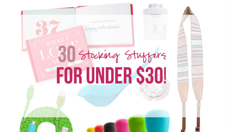 30 Stocking Stuffers for Under $30... with Happily Ever After Etc