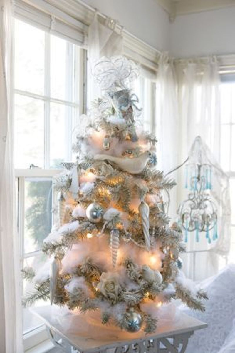 Decorating Ideas > Winter Wonderland 20 Snowy Christmas Trees  Happily Ever  ~ 135331_Christmas Decoration Ideas Snow