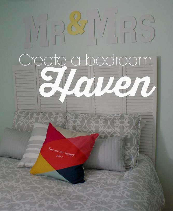 Sugar Crumbs Creating a Bedroom Haven