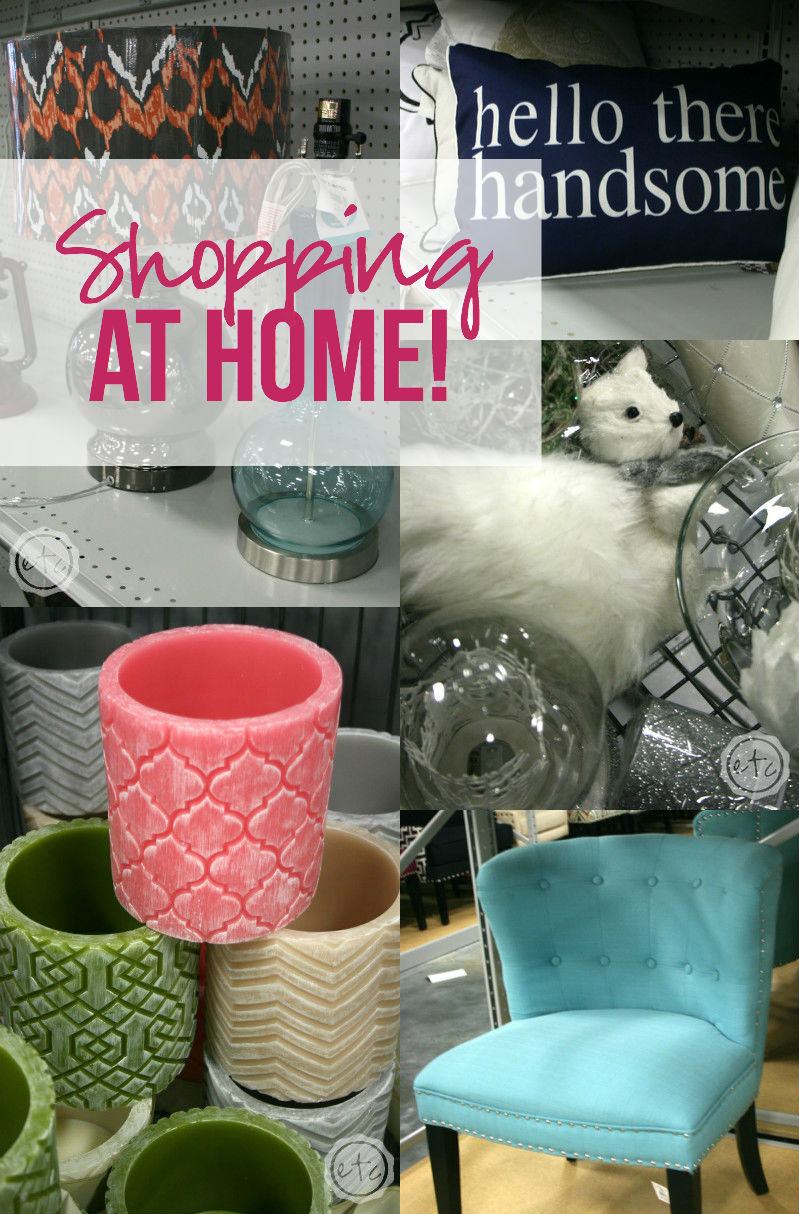 Shopping At Home with Happily Ever After, Etc.