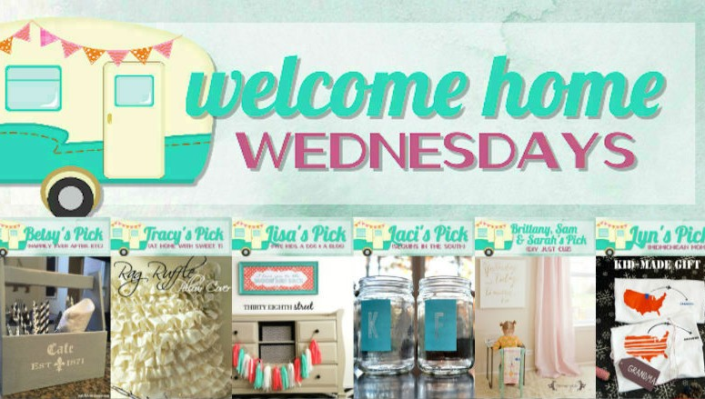 Welcome Home Wednesdays Link Party #15