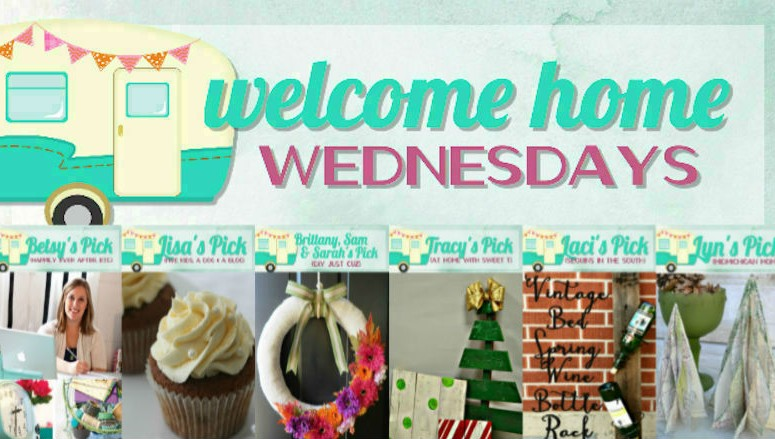 Welcome Home Wednesdays Link Party #16