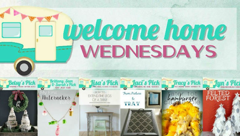 Welcome Home Wednesdays Link Party #17