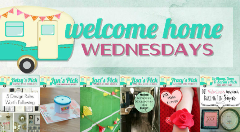 Welcome Home Wednesdays Link Party #24