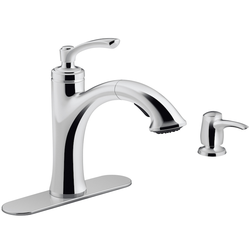 Kohler Elliston Sink : How to Pick a New Kitchen Faucet... and free checklist! With Happily ...