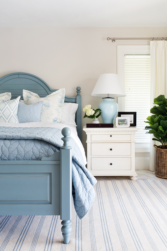 Little details to make your guest room more inviting for Blue guest bedroom ideas