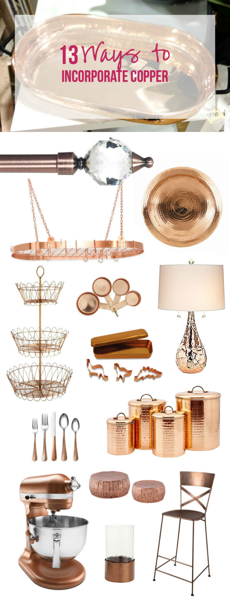 13 Ways to Incorporate Copper with Happily Ever After, Etc.
