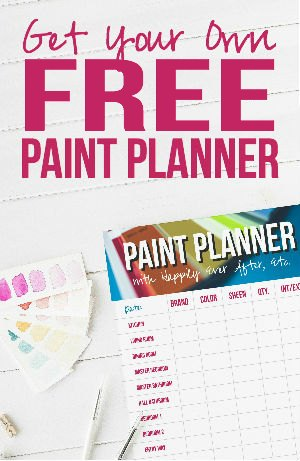 Get Your Free Paint Planner