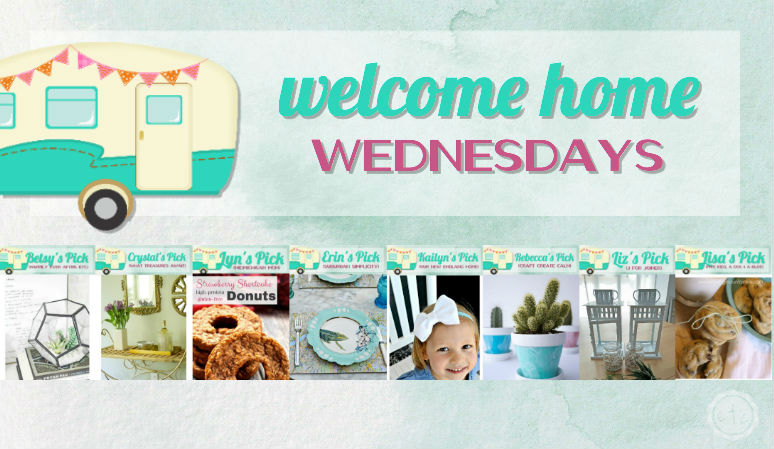 Welcome Home Wednesdays Link Party #40