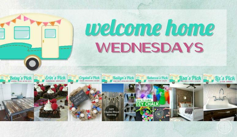 Welcome Home Wednesdays Link Party #41