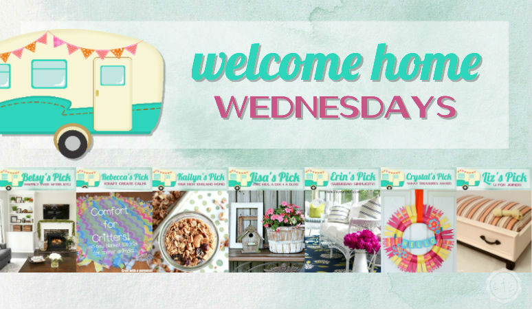 Welcome Home Wednesdays Link Party #45