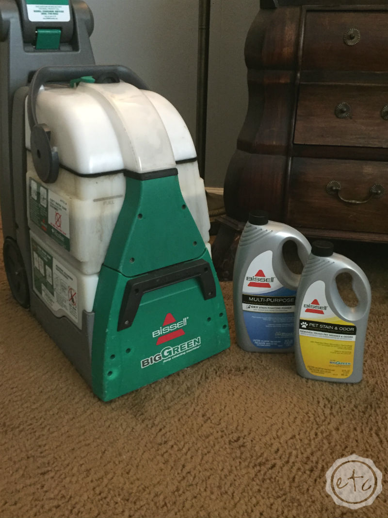 bissell green machine vs rug doctor