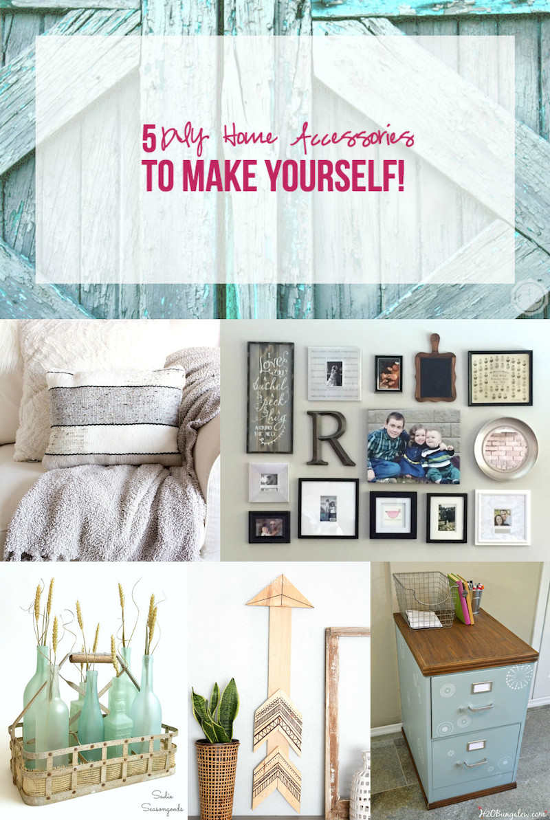 5 DIY Home Accessories to Make Yourself!