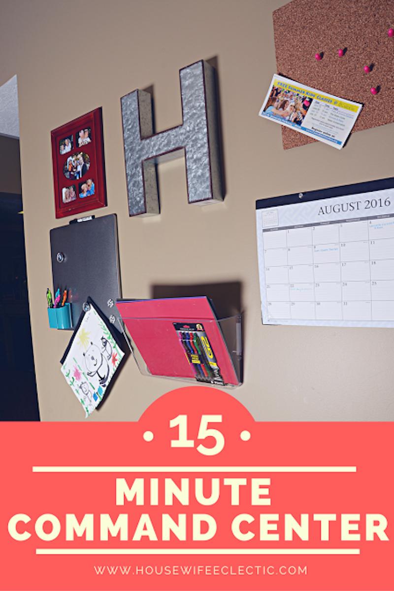 4 Minute Command Center