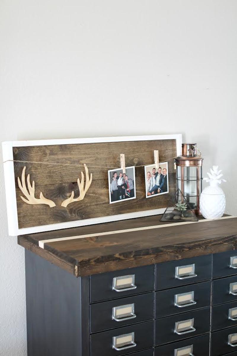 5  DIY-Wooden-Antler-Frame-Tutorial