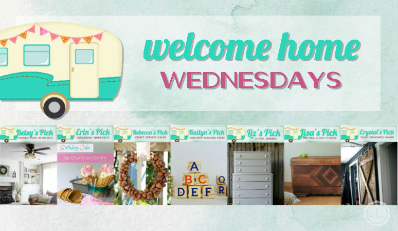 Welcome Home Wednesdays Link Party #54