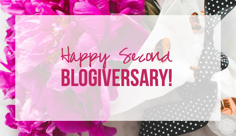 Happy Second Blogiversary to Happily Ever After, ETC. Come on over to check out our top posts from the last year!