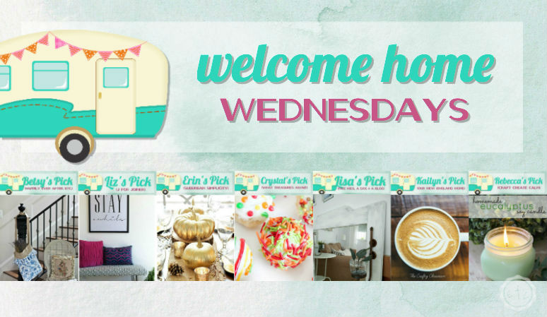 Welcome Home Wednesdays Link Party #58