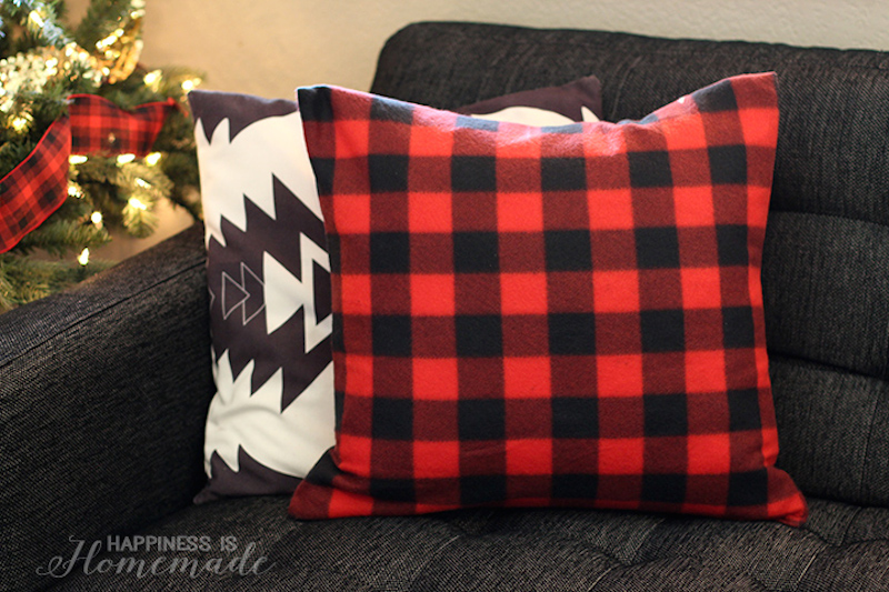 5-buffalo-check-plaid-holiday-pillow-from-a-target-dollar-spot-blanket