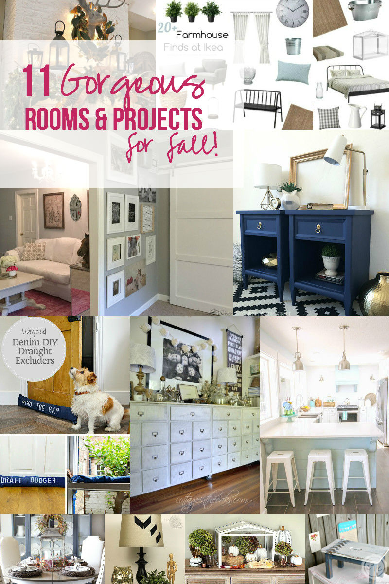 11 Gorgeous Rooms & Projects for Fall!