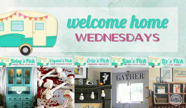Welcome Home Wednesdays Link Party #61