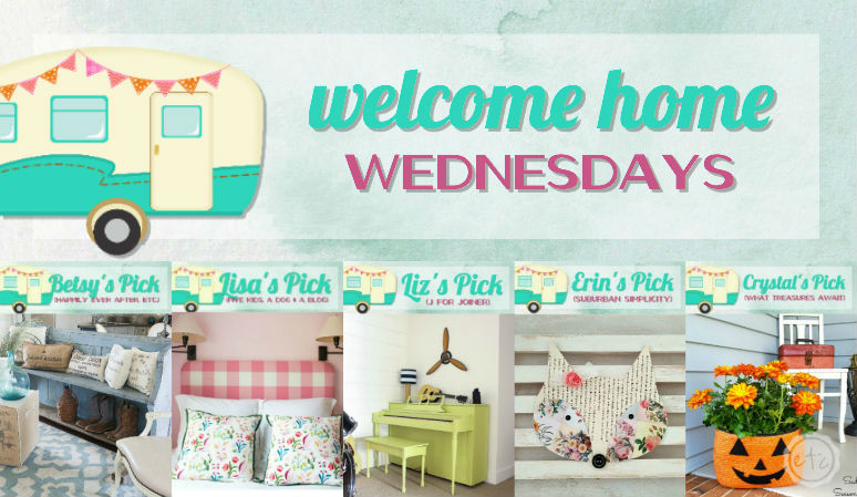 Welcome Home Wednesdays Link Party #62