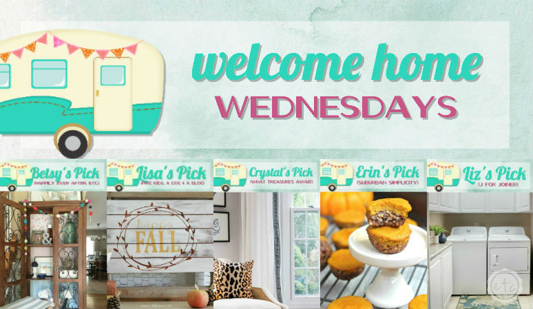 Welcome Home Wednesdays Link Party #63