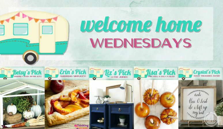 Welcome Home Wednesdays Link Party #60