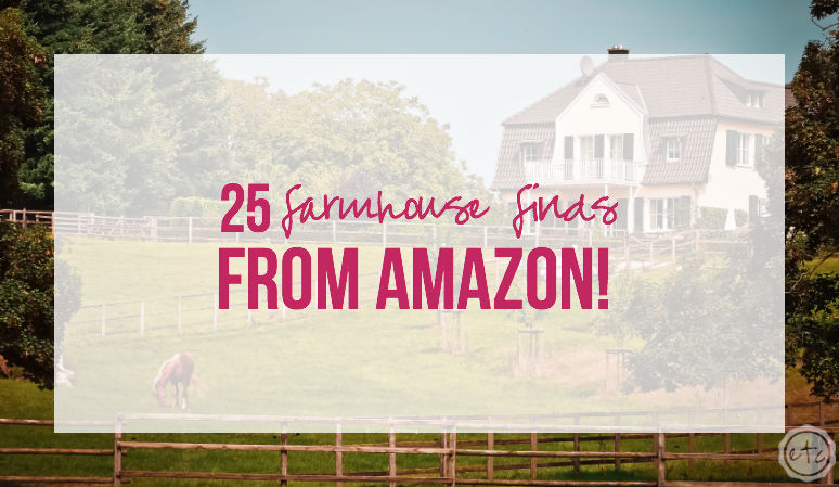 25 Farmhouse Finds from Amazon!