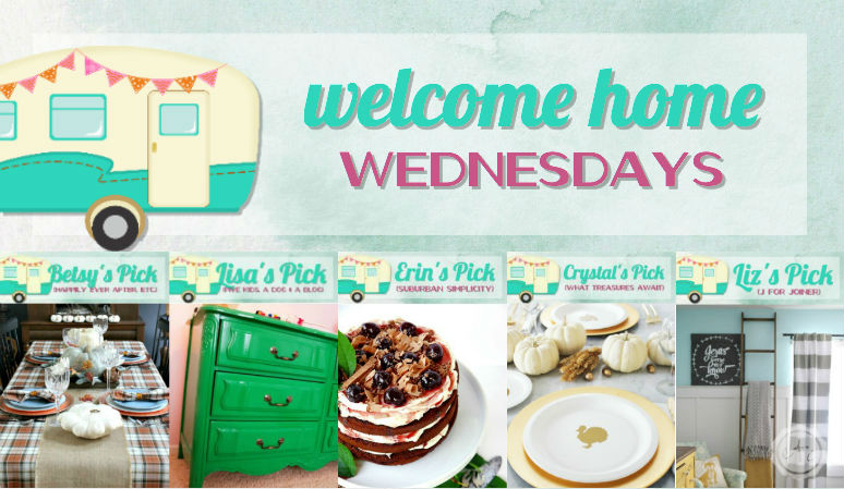 Welcome Home Wednesdays Link Party #65