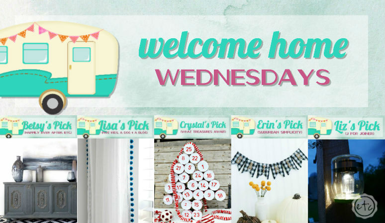 Welcome Home Wednesdays Link Party #66