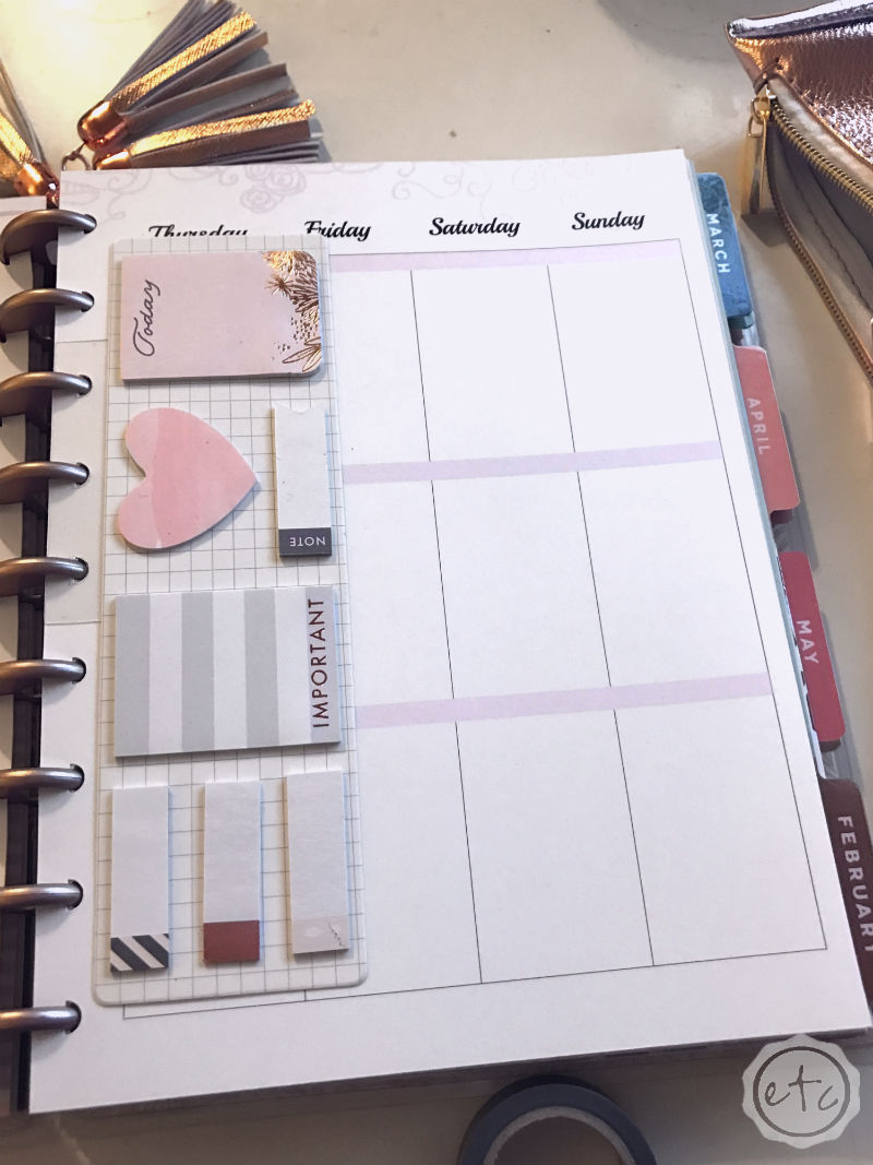 Create Your Own Planner Undated Amazon Blue Sky Academic