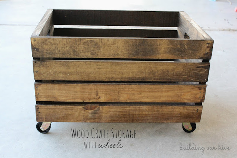 7 wood crate