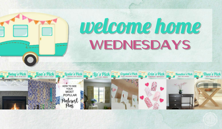 Welcome Home Wednesdays Link Party #76