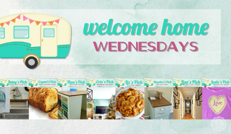 Welcome Home Wednesdays Link Party #74