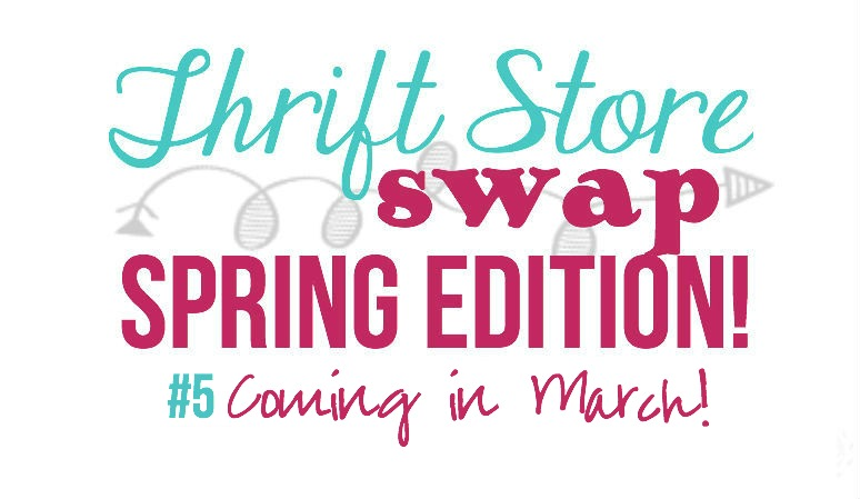 Shopping for the Spring Thrift Store Swap!