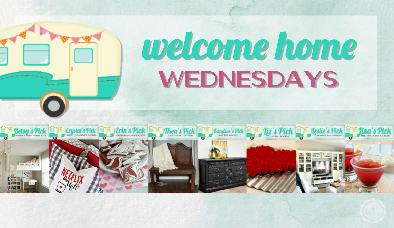 Welcome Home Wednesdays Link Party #78