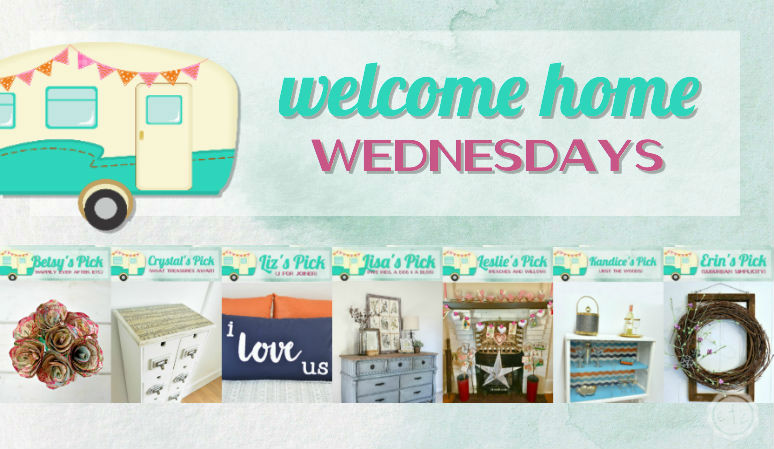 Welcome Home Wednesdays Link Party #79
